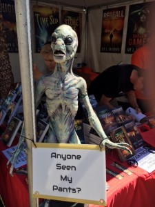 alien without pants Tucson Festival of Books